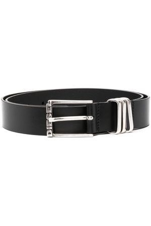 Diesel B-Tuplo calf leather belt